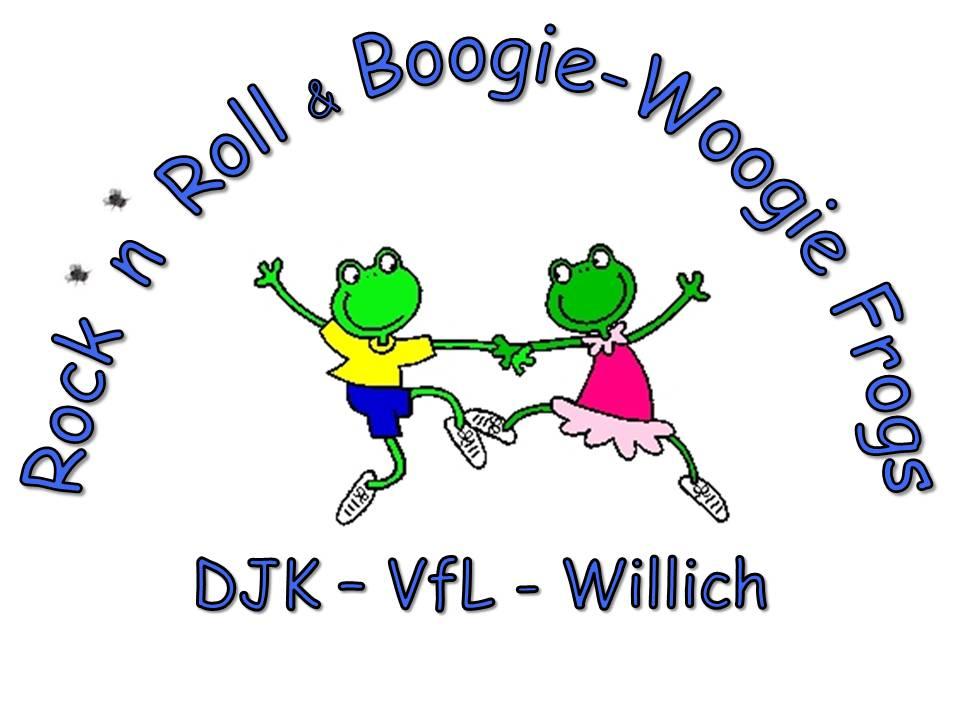 Rock´n´Roll und Boogie Woogie Frogs
