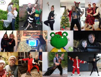 Die Rock´n´Roll & Boogie Woogie Frogs wünschen frohe Weihnachten!